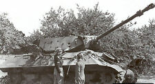 8x6 Gloss Photo ww40C Normandy Calvados Villiers Bocage 1944