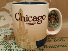 Starbucks Coffee City Mug/Tasse/Becher CHICAGO, Global Icon, NEU mit Sticker!!!!