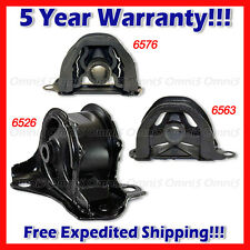 A333 For 99-00 Honda Civic Si ONLY 1.6L Front / Front RT / Trans Mount Set 3PCS