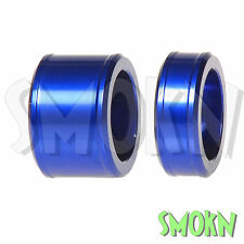 RFX Pro Series CNC Front Wheel Spacers Yamaha YZ 250 450 F YZF 14-17 Blue
