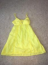 Women's Pink By Victoria's Secret Bright Yellow Dress Size Small! Great Cond!