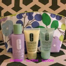 Clinique 3-Steps Skin Care Travel Kit For Dry Combination Skin Type 2 (3pc X1oz)