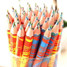 5 pcs Rainbow Funny Colored Drawing Painting Pencils Color Graffiti Pencils New