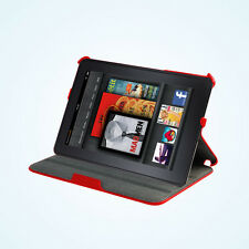 Stylish PU Leather Portfolio Multi Stand Case Cover for Amazon Kindle Fire HD 7