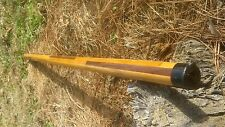 pole-arm wooden staffs, fits with reverse blade sword, a hint of walnut