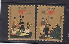 macao 1991 Sc 656/7 cultural exchange,MNH,set        b968