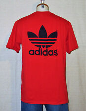 VTG NWOT 1989 ADIDAS TREFOIL WILDCAT BASKETBALL TEE Athletic M/L 50/50 T-SHIRT