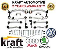 ~! SUSPENSION CONTROL ARMS WISHBONE KIT Audi A4 A6 VW Passat B5 C5 4B 8D SUPERB
