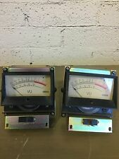 PAIR Yamaha PM2000 VU meters qty of 2 PM 2000 M1516 M1532