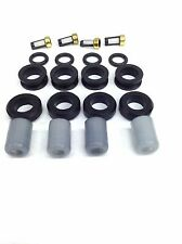 FUEL INJECTOR REPAIR KIT O-RINGS CAPS FILTERS GROMMETS 1986-1988 MAZDA RX-7 1.3L