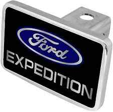 New Ford Expedition Blue Logo/Word Tow Hitch Cover Plug