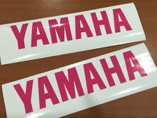 """x2 YAMAHA Decals Stickers Vinyl motorcycle yz yzf fzr r1 r6 size 6""""-12"""""""