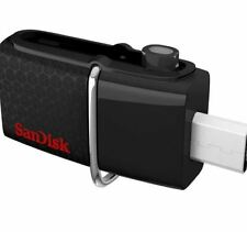 SanDisk SDDD2-128G-A46 Ultra Dual USB 3.0 128GB Flash Drive (Black)