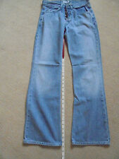 Ladies TOMMY HILFIGER Stonewashed Button Fly Jeans Size 29 Waist #200