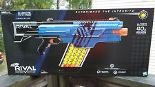 NEW Blue NERF Rival Khaos MXVI-4000 Blaster ADVANCED TOY DART GUNS Ages 14 & UP