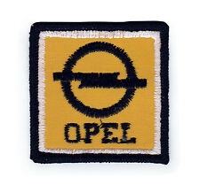 Opel Sew On Patch