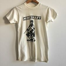 VTG 1970's Gay Bar Punk T-Shirt, Leather Daddy, Mineshaft, XS/S Tom Of Finland