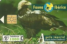 RARE / CARTE TELEPHONIQUE - AIGLE IMPERIAL / OISEAU : RAPACE / BIRD - PHONECARD