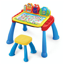 Vtech Interactive Touch & Learn Activity Desk Deluxe Kids Educational Toy Table