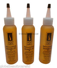 3 x  Doo Gro Stimulating Growth Oil, Hair Loss, Growth & Relief from Psoriasis