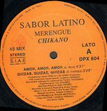 SABOR LATINO - Merengue / Chikano - D.V. More Record