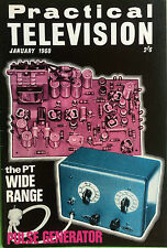 Practical Television Magazine - January 1968 - The PT Wide Range Pulse Generator