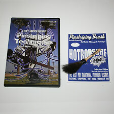 HOT ROD SURF ® MACK HOTRODSURF Pinstriping Art BRUSH and DVD Movie combo