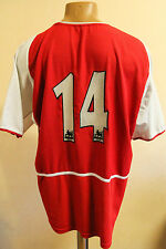 ARSENAL LONDON 2002/2003/2004 HOME FOOTBALL SHIRT JERSEY MAGLIA ENGLAND NIKE #14