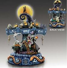 THE NIGHTMARE BEFORE CHRISTMAS MUSICAL CAROUSEL JACK & SALLY OOGIE ~IN STOCKNOW