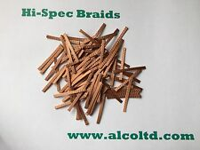 MICRO-SCALEXTRIC Car spares,Copper Braids/Brushes, (pack of 12) www.alcoltd.com
