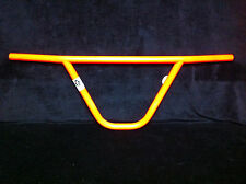 NOS Day Glo Orange CW PRO MUSTACHE BARS Old School BMX Knurled Handlebars Neon