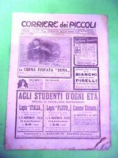 CORRIERE DEI PICCOLI N°46-1912.CON SOVRACOPERTA PUBBLICITARIA