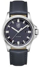 NEW FIELD WATCH 42MM STAINLESS STEEL BLUE DIAL STRAP TANG BUCKLE 1834