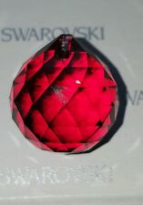 SWAROVSKI 30mm Bordeaux Red Ball Prism Crystal Lamp Chandelier Craft Suncatcher