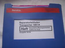 VW T4 California Club Hochdach+Küchenblock+Kühlschrank+Sitze+Schlafbank+Toilette