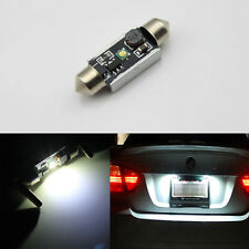 2x 39mm C5W CREE 5W LED Canbus License Plate Light for Ford Mondeo MK1 MK2 MK3