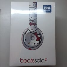 New HELLO KITTY 40th Anniversary Headphones Beats by Dr. Dre Solo2 SEALED