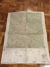 NATO Military army ex yugoslavia Bosnia topographic map Bosnia Rare  war atlas