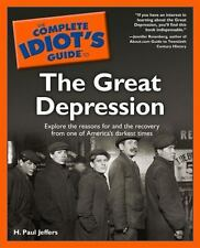 The Complete Idiot's Guide(R) to the Great Depression-ExLibrary