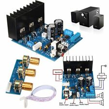 2X18W 3 Channel Subwoofer TDA2030A Module Mould Stereo Audio Amplifier Board