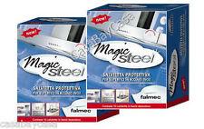 MAGIC STEEL FALMEC 20SALVIETTE PROTEZIONE E PULIZIA ACCIAIO TIPO CLIN CLIN Promo