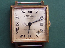 VINTAGE SOVIET/RUSSIAN/MADE IN USSR WRISTWATCH CORNAVIN,21 JEWELS,FREE SHIPPING