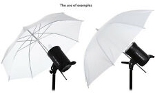33 inch Photography Photo Studio VideoSoft Lighting Translucent Flash Umbrella