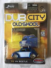 Jada Toys Dub City Old Skool 1959 Volkswagen VW Beetle Blue/White Die-Cast 1/64