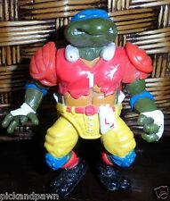 Vintage Teenage Mutant Ninja Turtles Leonardo Football Player Playmates Toys