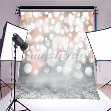 5x7FT Glitter Photography Backdrop Photo Background Christmas Wall Studio Props
