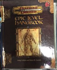 D&D 3.0 Epic Level Handbook