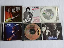 Gary Moore – 2 CDs & 4 Import/Limited Edition/OOP and/or Promo Rare CD Singles
