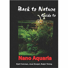 Back to Nature guide to mini Nano Aquaria tropical small fish shrimp book