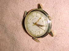 32mm -1950's HAMILTON AUTOMATIC - Lancaster Pa - OMEGA CROWN -10K GOLD FILLED -